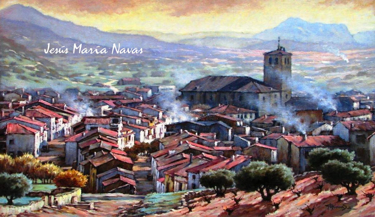 Jesús María Navas Sáez. Pintor contemporáneo español.